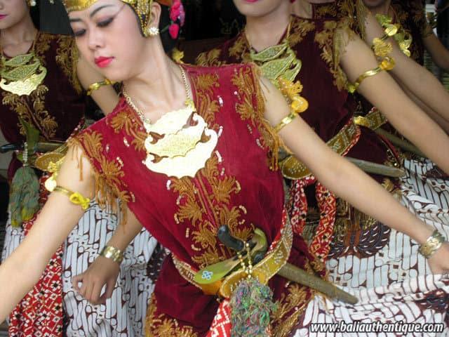 serimpi danse java indonesie culture