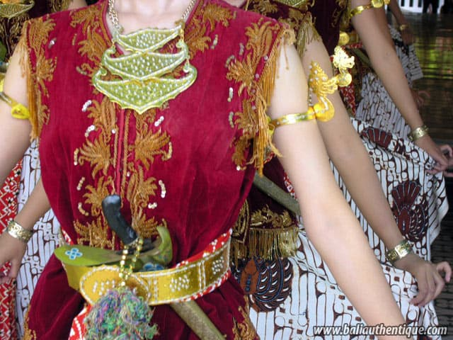 serimpi danse java indonesie traditions