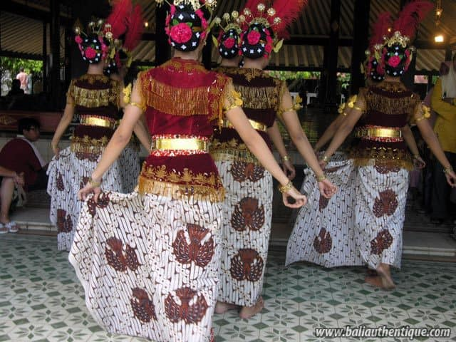 serimpi danse java indonesie