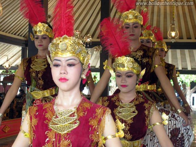 serimpi representation danse java indonesie