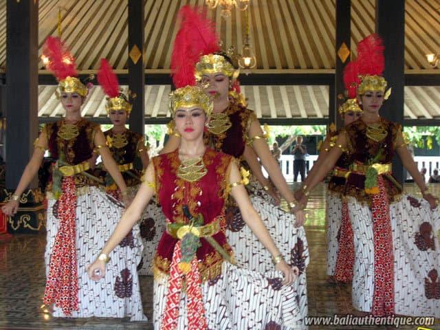 serimpi spectacle danse java indonesie