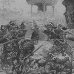 arrivée de soldats hollandais à Lombok