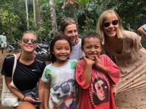 sourires bali indonesie