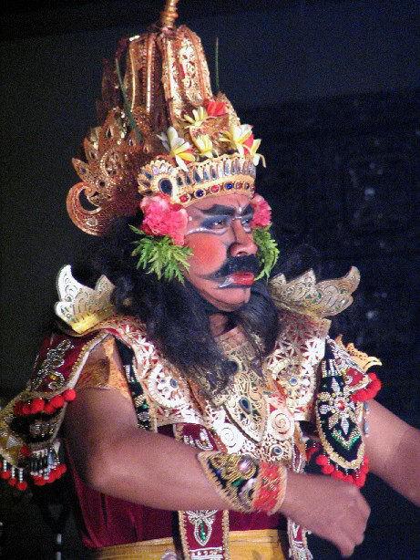 spectacle danse ramayana java portrait danseur