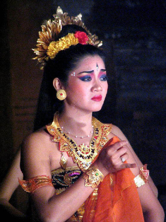 spectacle danse ramayana java portrait danseuse