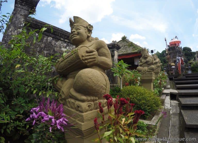 Statue balinaise symbole