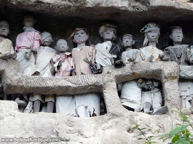 sulawesi suaya region toraja morts balcon sulawesi