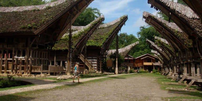 Sulawesi maison Toraja Kete Kesu