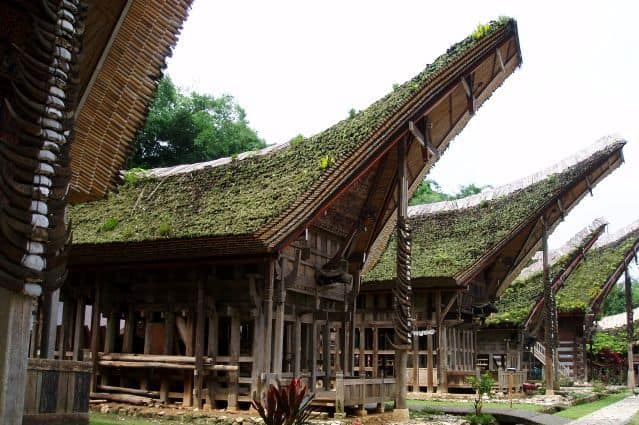 sulawesi maison traditionnelle visite voyage indonesie