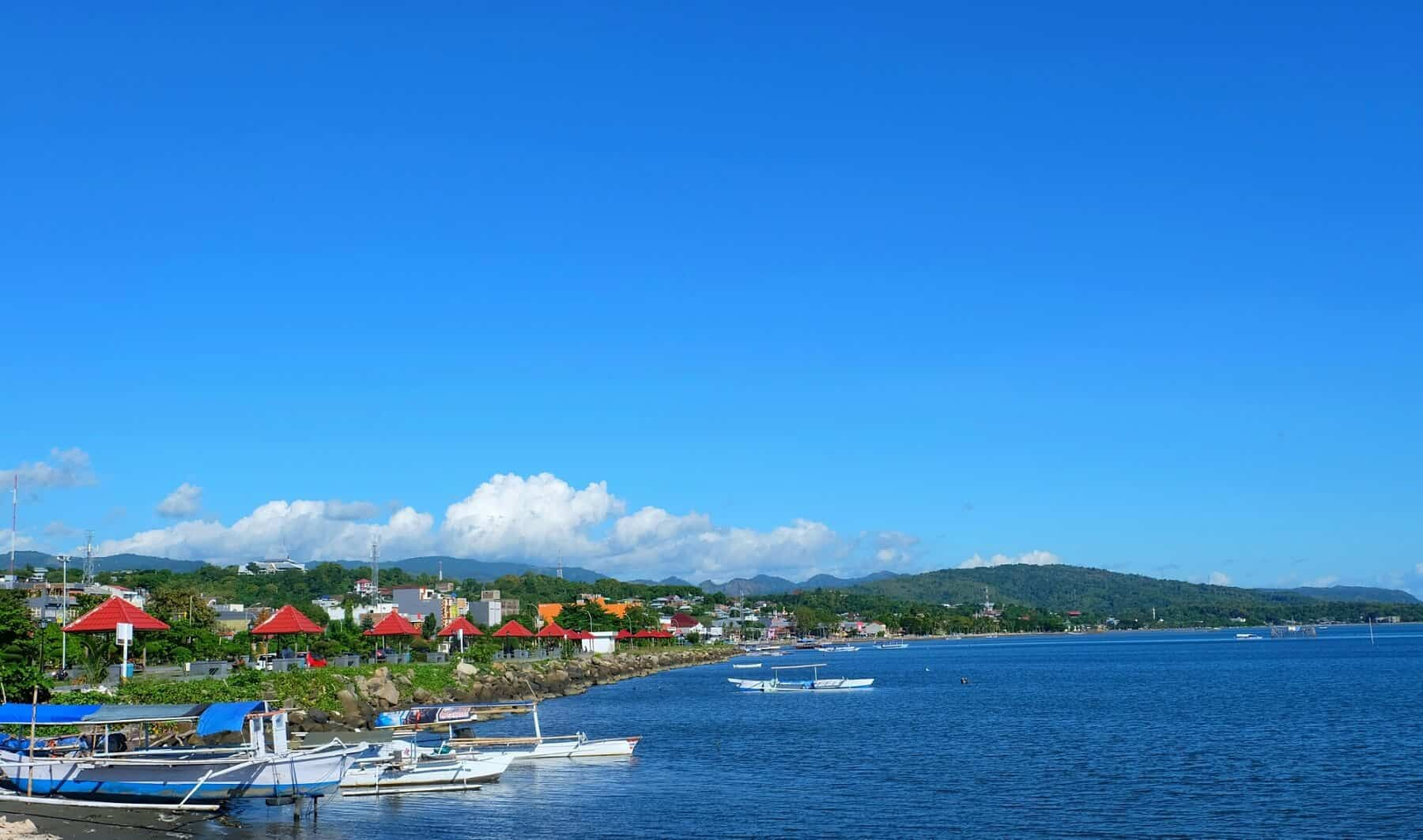 Sulawesi Pare Pare vue océan