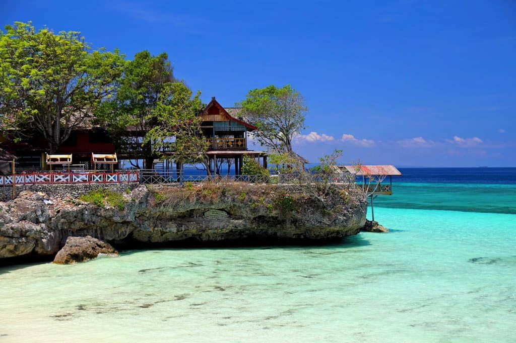 Sulawesi south cape bira beach