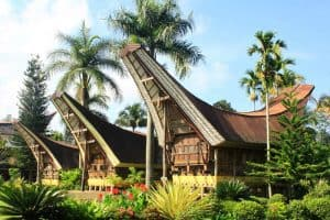 Sulawesi traditional house Bali Authentique