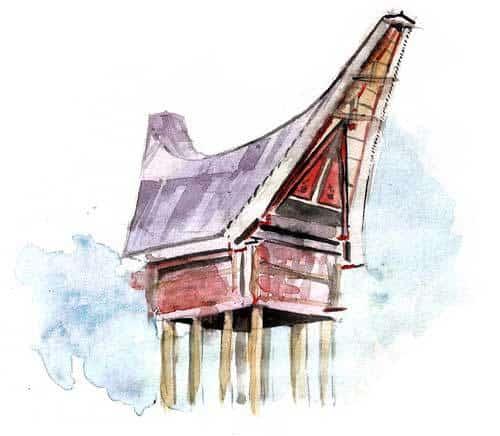 voyage Sulawsei maison Toraja