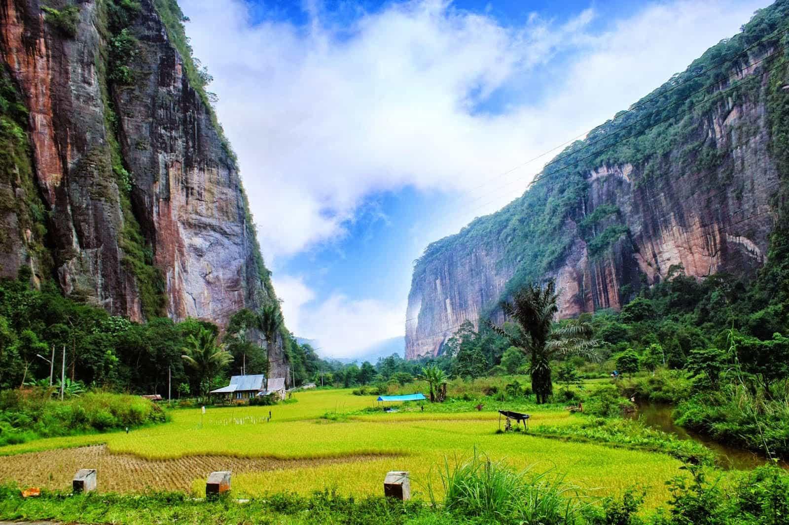 Sumatra lembah haru panorama