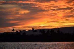 coucher de soleil balinais