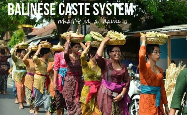 systeme castes balinais