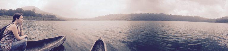paysage tamblingan lac bali