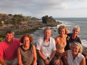 Tanah Lot îlot d'Indonésie sur l'île de Bali