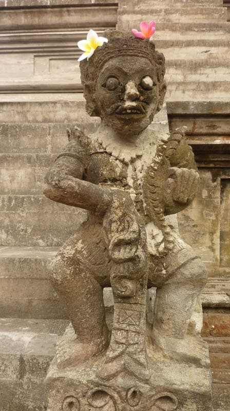 temple bali candi wasan indonesie ancienne statue