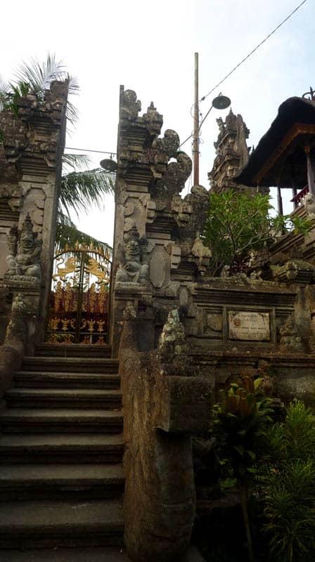 temple bali candi wasan indonesie entree porte