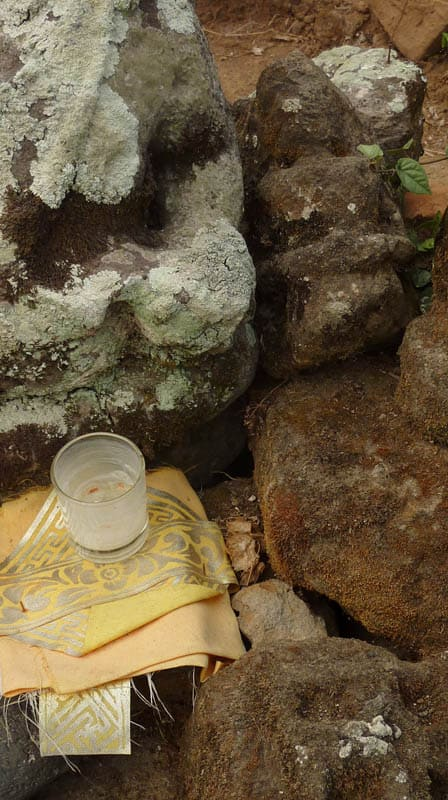 temple bali candi wasan indonesie offrande bougie