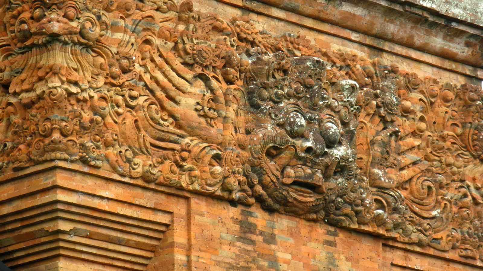 temple bali candi wasan indonesie panorama