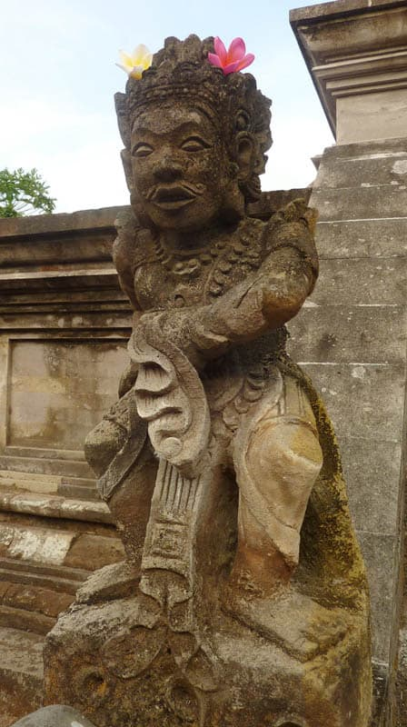 temple bali candi wasan indonesie sculpture