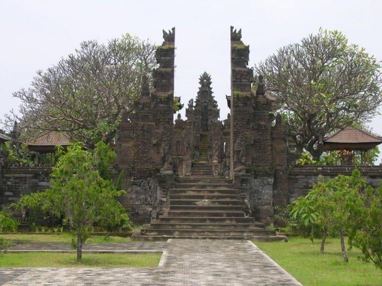 temple bali singaraja indonesie paysage