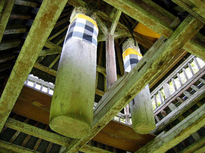 temple bali tan ayuamn mengwi intérieur temple