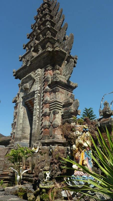 temple bali ulun batur temple antique