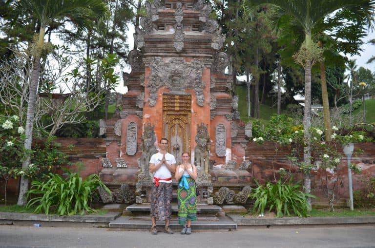 temple balinais culture indonésienne