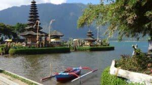Mont bratan bali temple indonésie