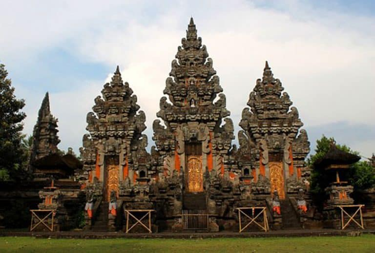 temple hindou lumajang culture indonesienne panorama