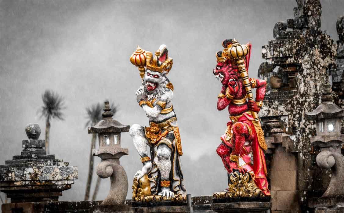 temple hindou panorama