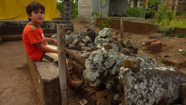 temple ile bali candi wasan indonesie