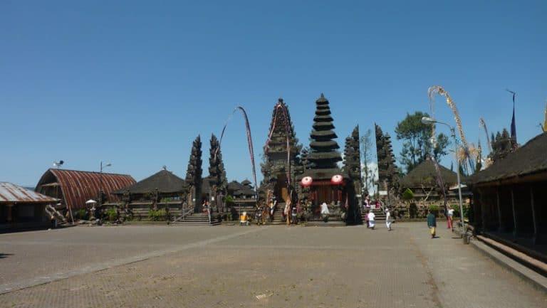 temple ile bali ulun batur