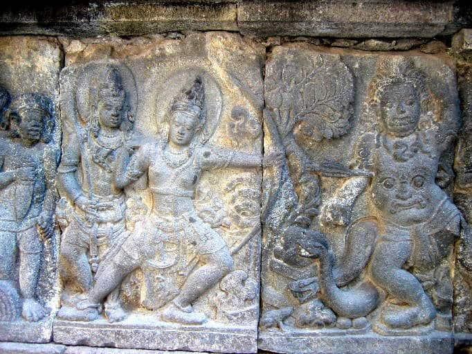 temple prambanan ile java indonesie