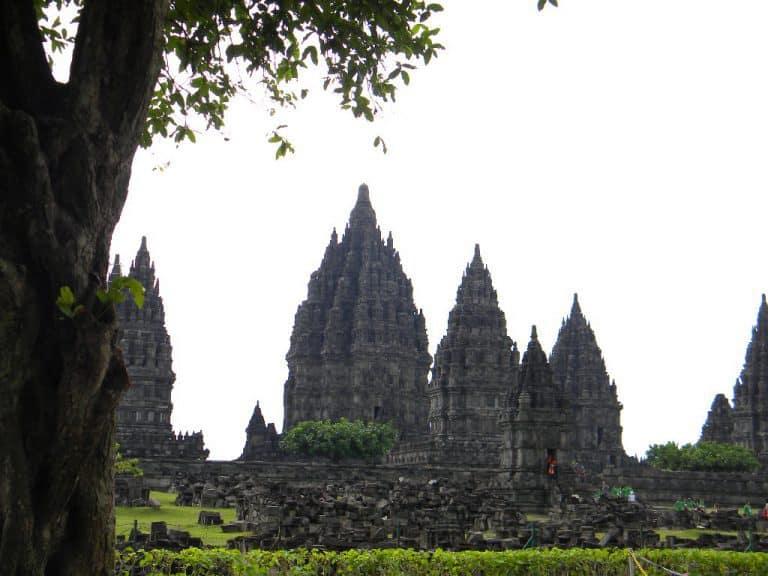 Prambanan temple Yogyakarta ile de java indonésie
