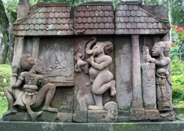 temple Sukuh Java relief