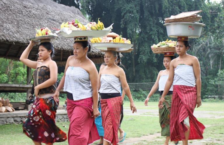 Tenganan Bali aga ceremonie