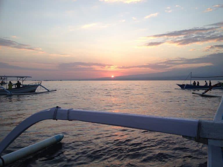 testimonial boat sunrise
