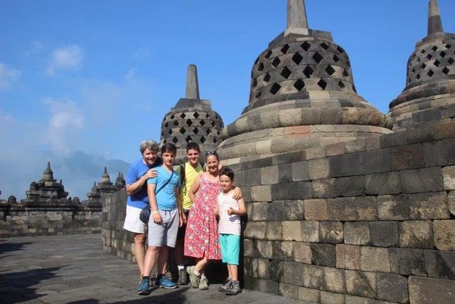testimonial Borobudur family