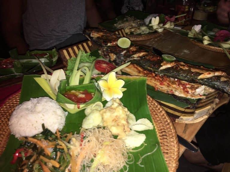 testimonial food Bali