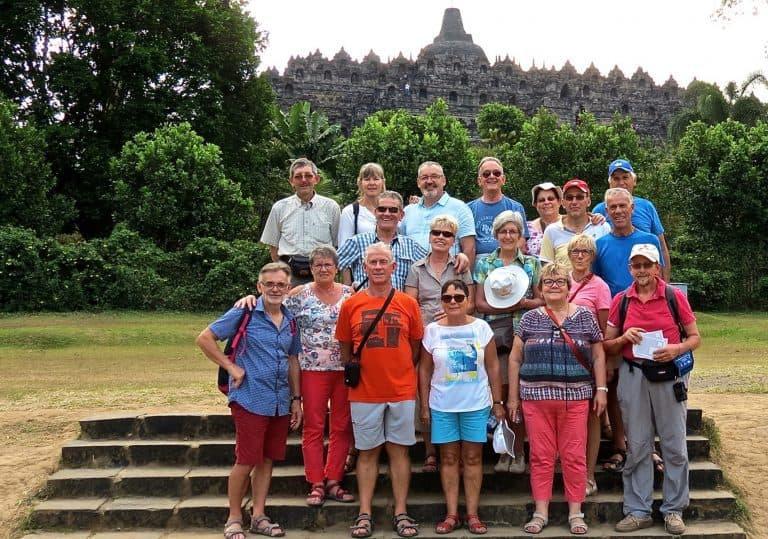 testimonial Jacques amis Java borobudur temple