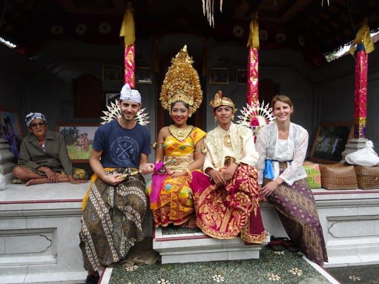 testimonial Mélanie Pierre Yves client Bali wedding Baliauthentique