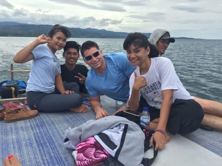 testimonial Sulawesi Jean François client Baliauthentique