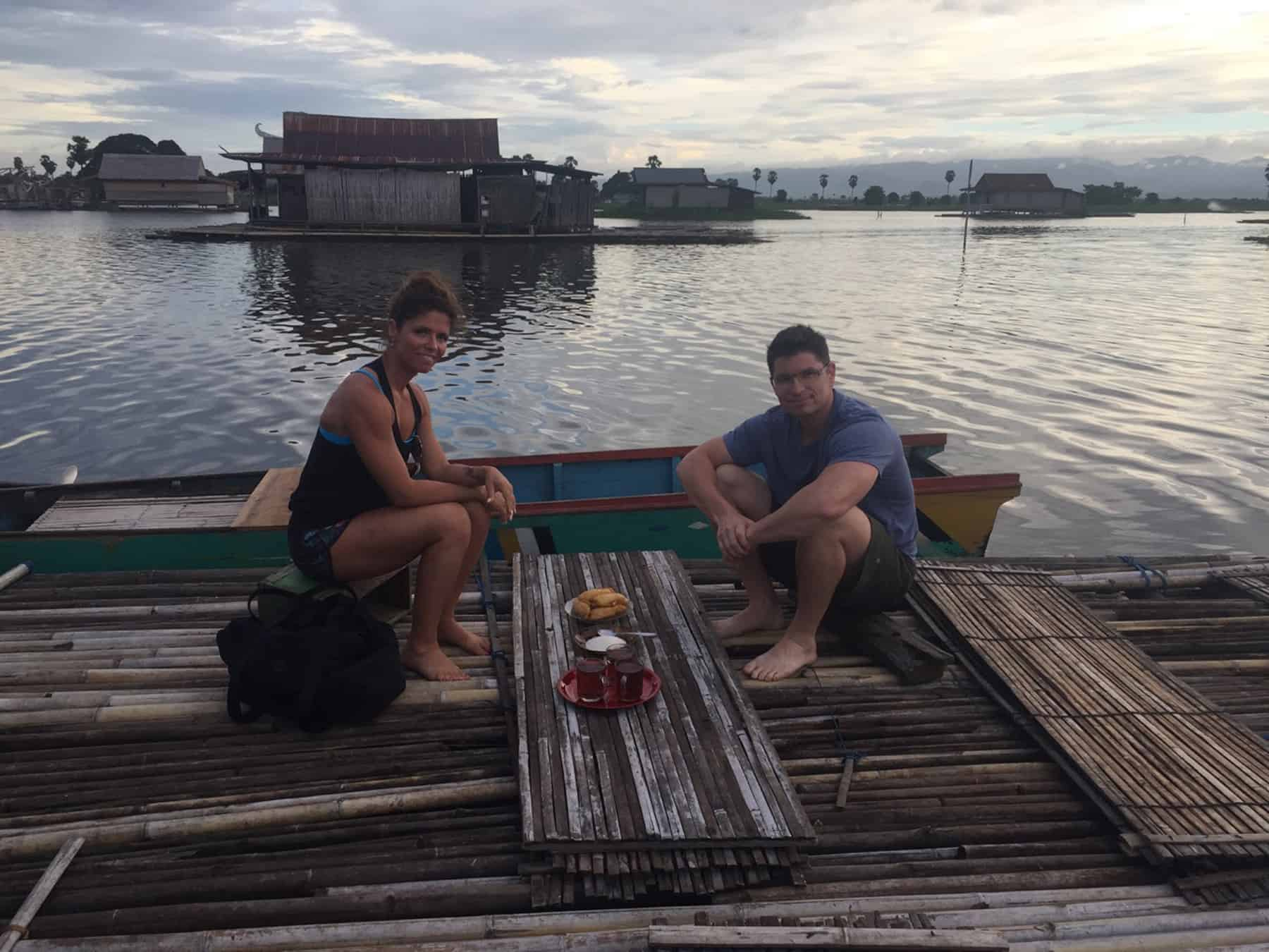 testimonial Sulawesi lac Patricia Jean François client Baliauthentique