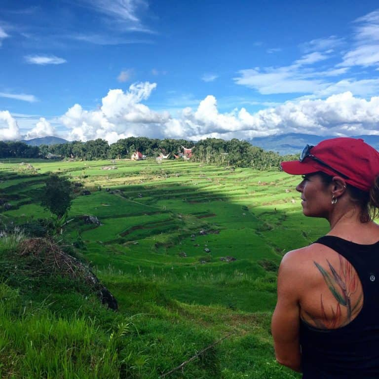 testimonial Sulawesi rice fieldsPatricia client Baliauthentique