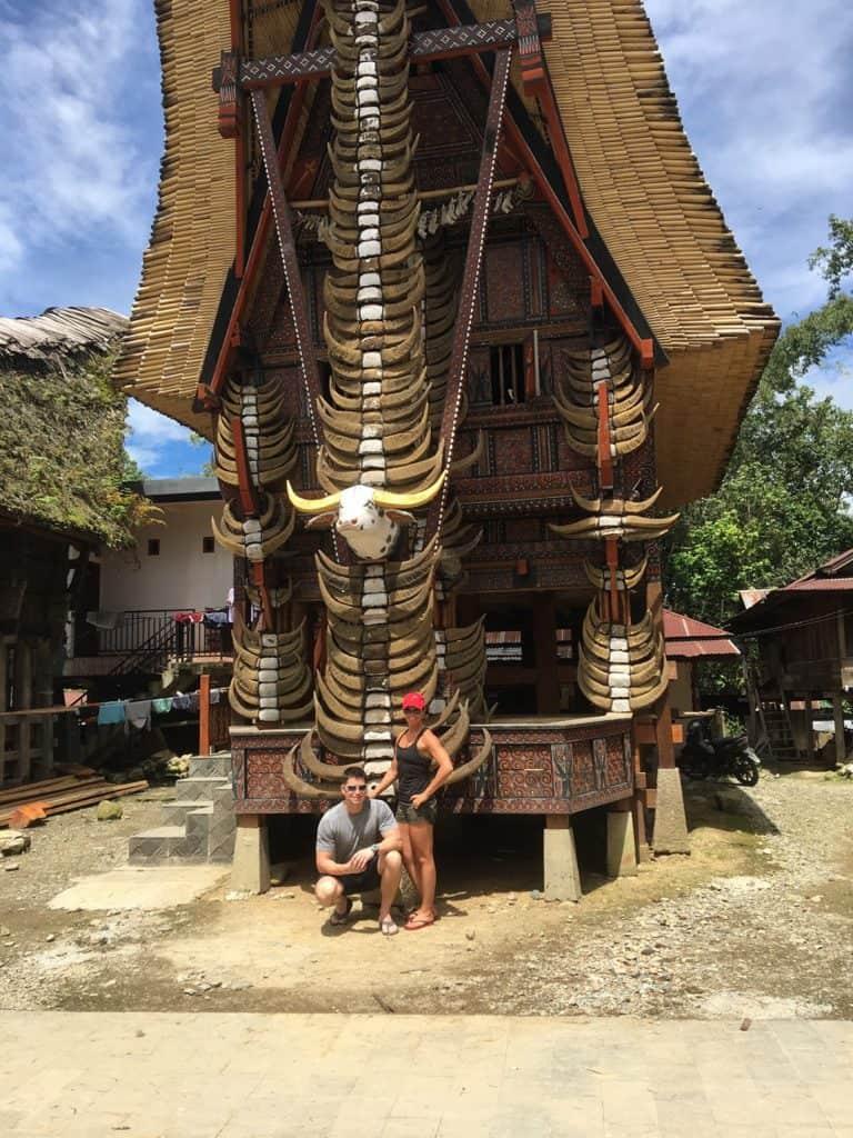 testimonial Sulawesi toraja maison traditionnelle client Patricia Jean François