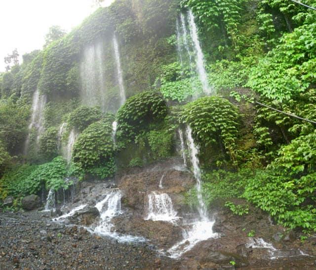 tetebatu lombok cascade randonnee indonesie